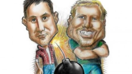 Rod Lamberts and Will Grant illustration