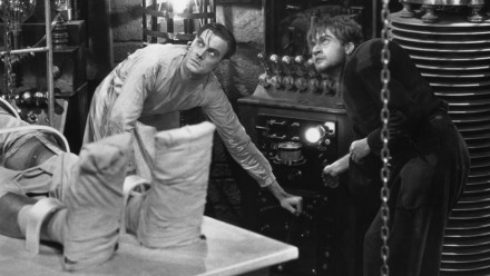 "Colin Clive & Dwight Frye in ""Frankenstein"", 1931"